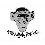 Monkey shirts Small Poster