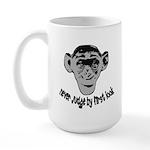 Monkey shirts Large Mug