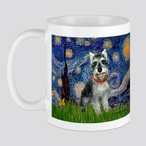 Starry Night /Schnauzer(#8) Mug