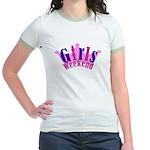 Queen Diva Jr. Ringer T-Shirt