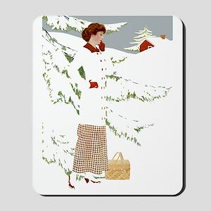 WHITE CHRISTMAS Mousepad