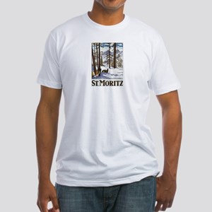 Vintage St Moritz Fitted T-Shirt