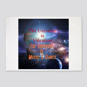 UniverseMusic 5'x7'Area Rug