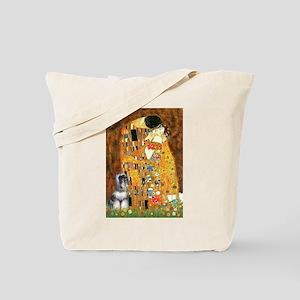 Kiss / Schnauzer (#7) Tote Bag