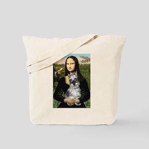 Mona Lisa's Schnauzer (#1) Tote Bag