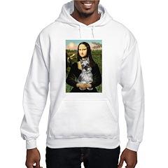 Mona Lisa's Schnauzer (#1) Hoodie