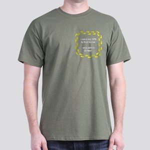 Geocacher Going Home Dark T-Shirt