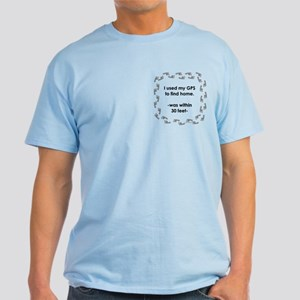 Geocacher Going Home Light T-Shirt