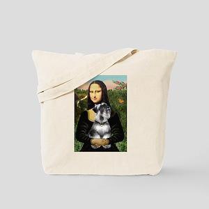 Mona Lisa's Schnauzer (#6) Tote Bag