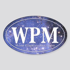 WPM Sticker (Oval)