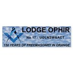 Lodge OPHIR Clouds Bumper Sticker (50 pk)