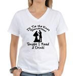 Need a Drink Hen Party Women's V-Neck T-Shirt