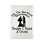 Need a Drink Hen Party Rectangle Magnet (10 pack)