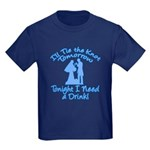 Need a Drink Hen Party Kids Dark T-Shirt
