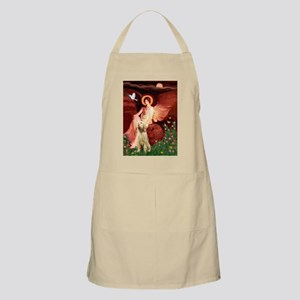 Seated Angel/Spinone BBQ Apron