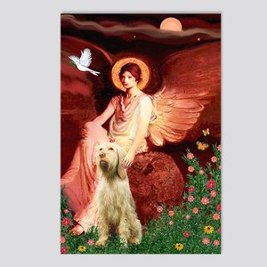 Seated Angel/Spinone Postcards (Package of 8)