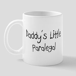 Daddy's Little Paralegal Mug