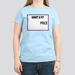 THE PRICE IS RIGHT Women's Pink T-Shirt
