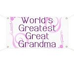 World's Greatest Great Grandma Banner