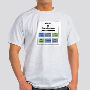 Jump to Conclusions Mat Ash Grey T-Shirt