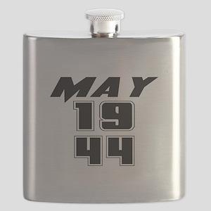 May 1944 Birthday Flask