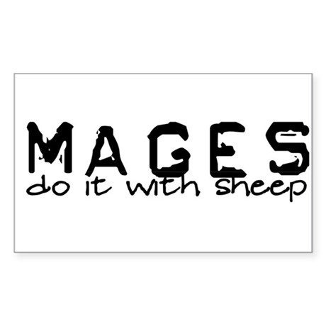 Mages Rectangle Sticker