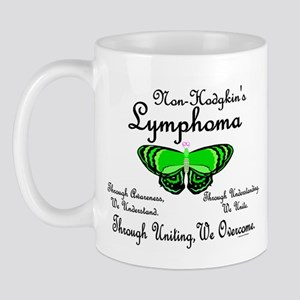 Butterfly Awareness 1 (Non-Hodgkin's) Mug