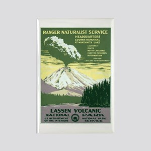 Lassen Volcanic National Park Rectangle Magnet
