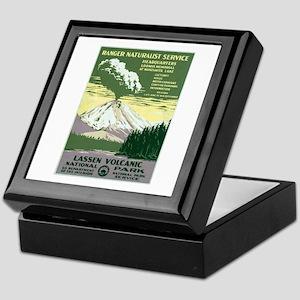 Lassen Volcanic National Park Keepsake Box