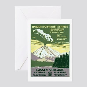 Lassen Volcanic National Park Greeting Card