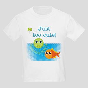 Just Too Cute Kids Light T-Shirt