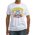 Hippie Musician Fitted T-Shirt
