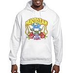 Hippie Musician Hooded Sweatshirt