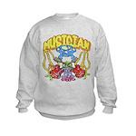 Hippie Musician Kids Sweatshirt
