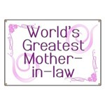 World's Greatest Mother-in-Law Banner