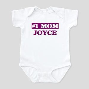 Joyce - Number 1 Mom Infant Bodysuit