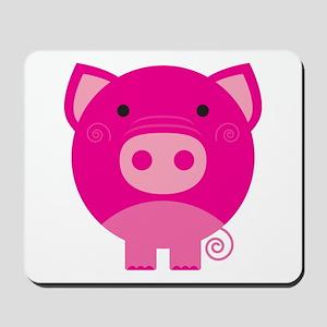 Pink Pig Mousepad