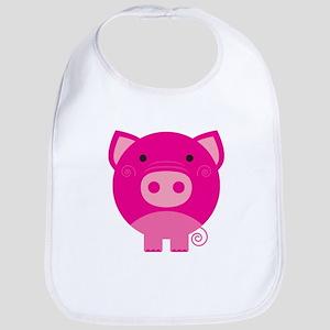 Pink Pig Bib