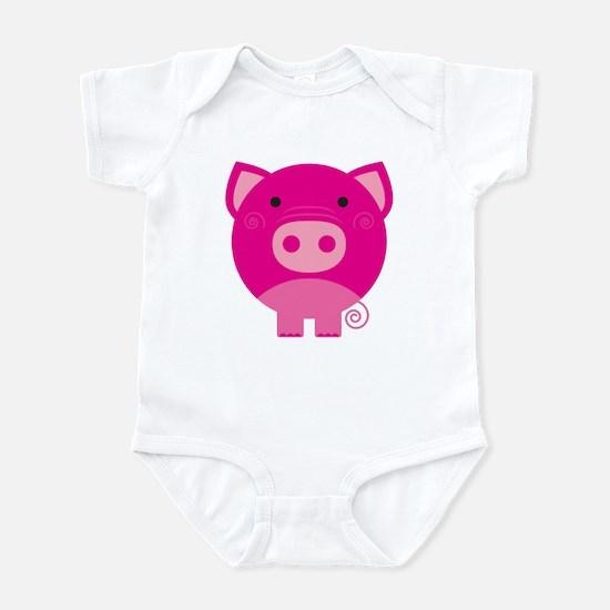 Pink Pig Infant Bodysuit