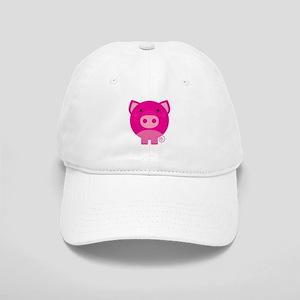 Pink Pig Cap