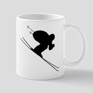 DOWNHILL SKIER Mug