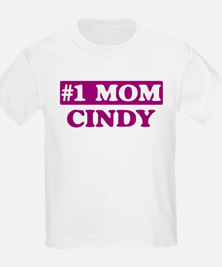 Cindy - Number 1 Mom T-Shirt