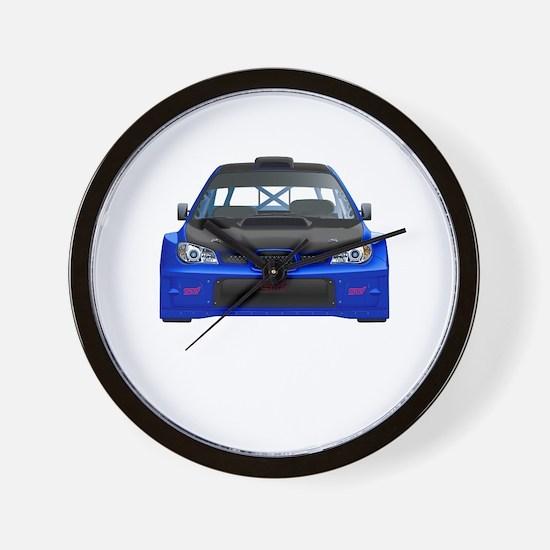 Cute Subarus Wall Clock