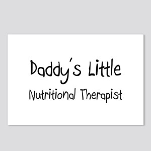 Daddy's Little Nutritional Therapist Postcards (Pa