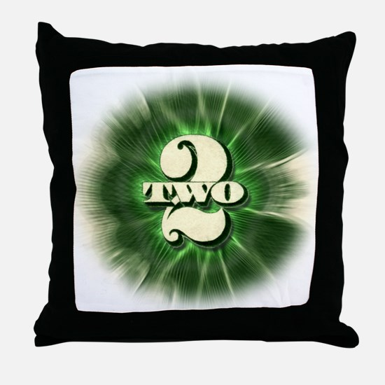 The TWO $2 bill - Throw Pillow