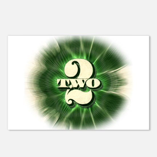 The TWO $2 bill - Postcards (Package of 8)