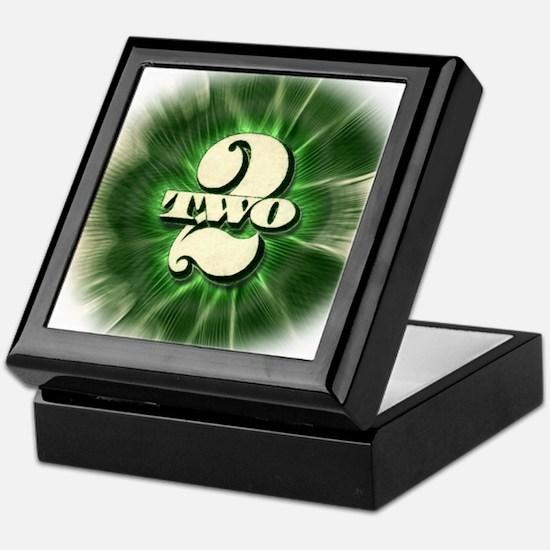 The TWO $2 bill - Keepsake Box