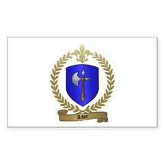 ACHEE Family Crest Rectangle Decal