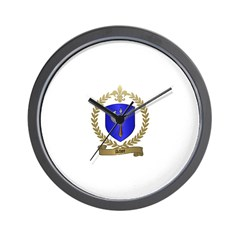 ACHEE Family Crest Wall Clock