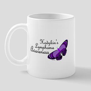 Butterfly 3 Hodgkin's Lymphoma Mug